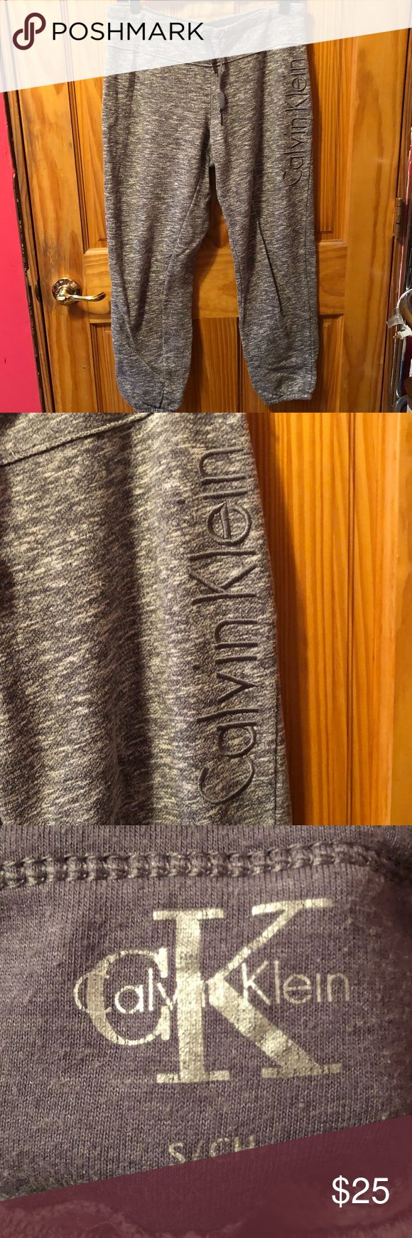 Calvin Klein Sweats Like new condition. From smoke free house. No damages Calvin Klein Pants Track Pants & Joggers