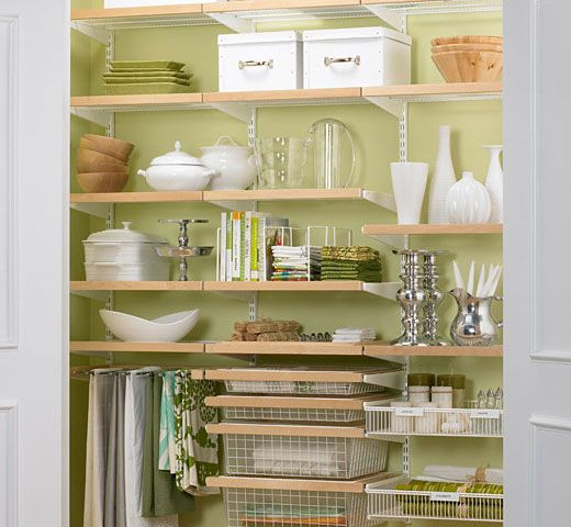 90 best pantries images on pinterest organization ideas for Cheap kitchen organization ideas