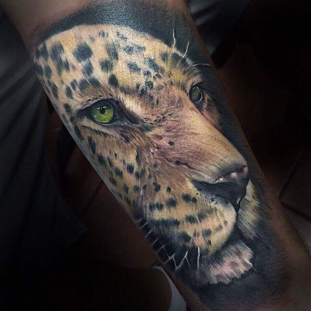#eternalink #jaguar #tattoo #costarica #realistictattoo #colortattoo…                                                                                                                                                                                 More