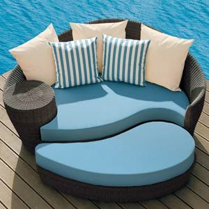 barlow tyrie dune daybed java with ottoman u0026 pillows modern