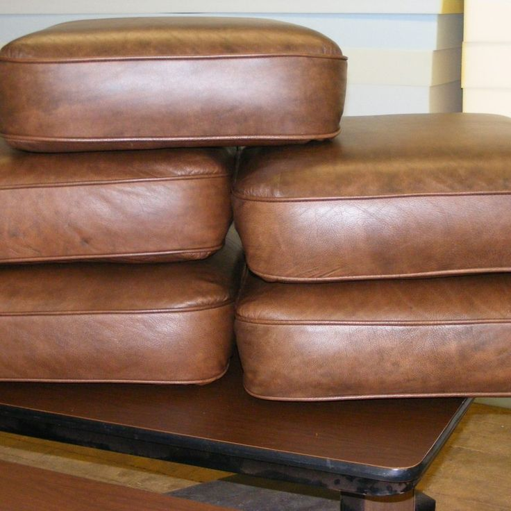 Bonded Leather Sofa Cushion Covers
