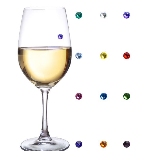 Beautiful SWAROVSKI Crystal magnetic charms for glasswear.. When only the best will do!Come in sets of 12  (Great value were $48.00 now $38.00 just under AU$3.25/charm plus free shipping).Choose from:- Red- Clear or- Multi-coloured optionsPlease specify your choice when ordering.Set of 12 Wine glass markers that work on stemless wine glasses! These charms are perfect for a party because they work on any glass shape, including champagne flutes, cocktail glasses and martinis.Clever and unique…