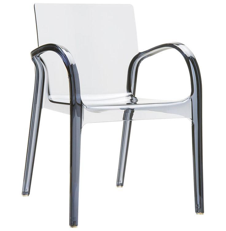 Les 25 meilleures id es concernant chaise plastique transparent sur pinterest - Chaise transparente grise ...