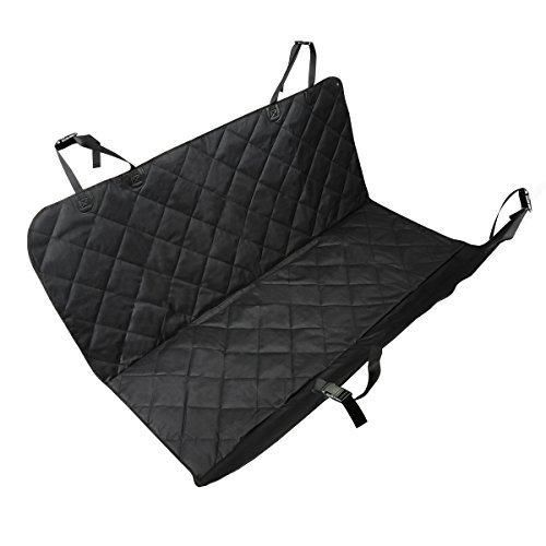 Cymas Pet Seat Cover Dog Car Hammock Waterproof Dog Car Seat Cover Protector with Non Slip Backing ...