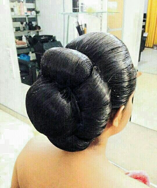 What a beautiful low bun ! Love it. Beauty is at every age, and we can embrace God's gifts. A wife's hair is just naturally beautiful, a glory to her and a joy to her friend/husband