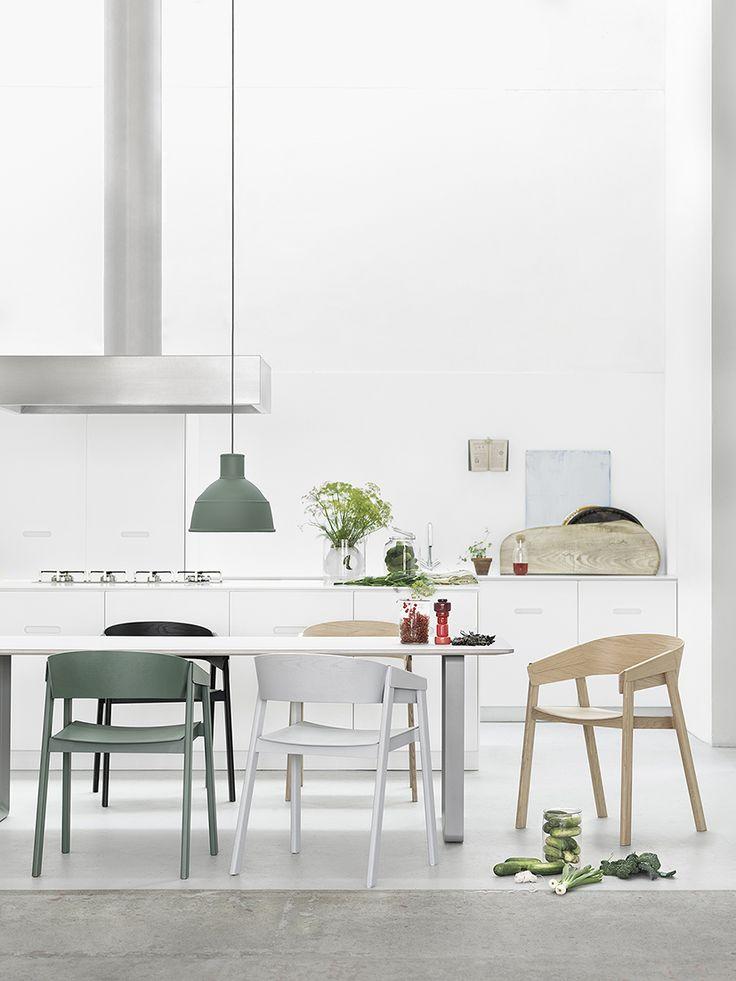 Chairs and lighting via Forage