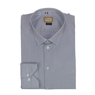 Shirts - GIODI'S - Camicia in cotone Grigio - Rigata. €18,00. #hallofbrands #hob #camicia #shirt