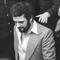 """Killing prostitutes had become an obsession with me. I could not stop myself. It was like a drug."" - Peter Sutcliffe. Read our Crime File: http://www.crimeandinvestigation.co.uk/crime-files/peter-sutcliffe--the-yorkshire-ripper/biography.html"
