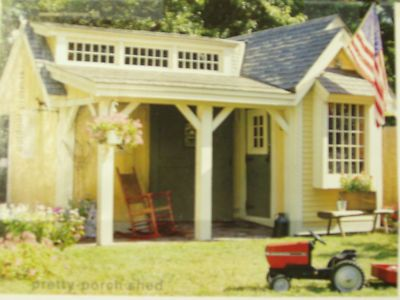 sensational garden shed kids playhouse plans ebay