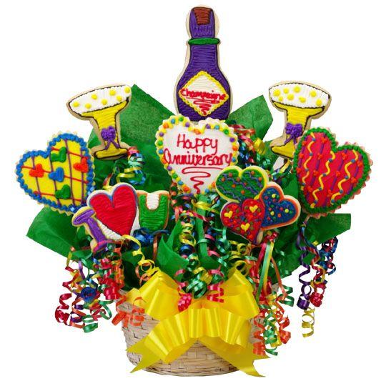 Happy Anniversary Basket