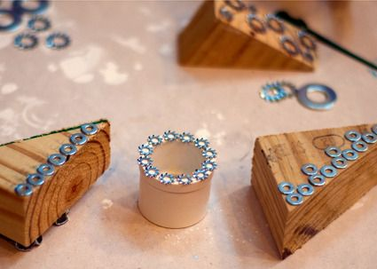 How fun!!! Hardware Stamps