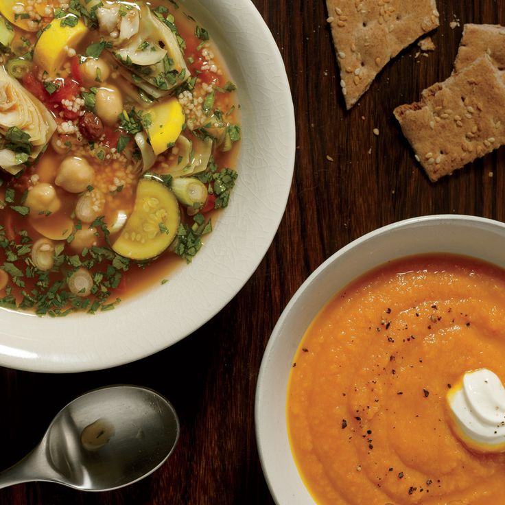 Soups that are delicious--and healthy too!