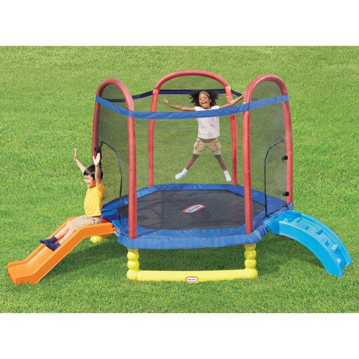 Scramble /'N/' Slide Play Centre Outdoor Small Children Area Swing Garden Fun Safe