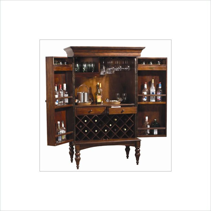 Lowest price online on all Howard Miller Cherry Hill Hide A Home Bar - 695014