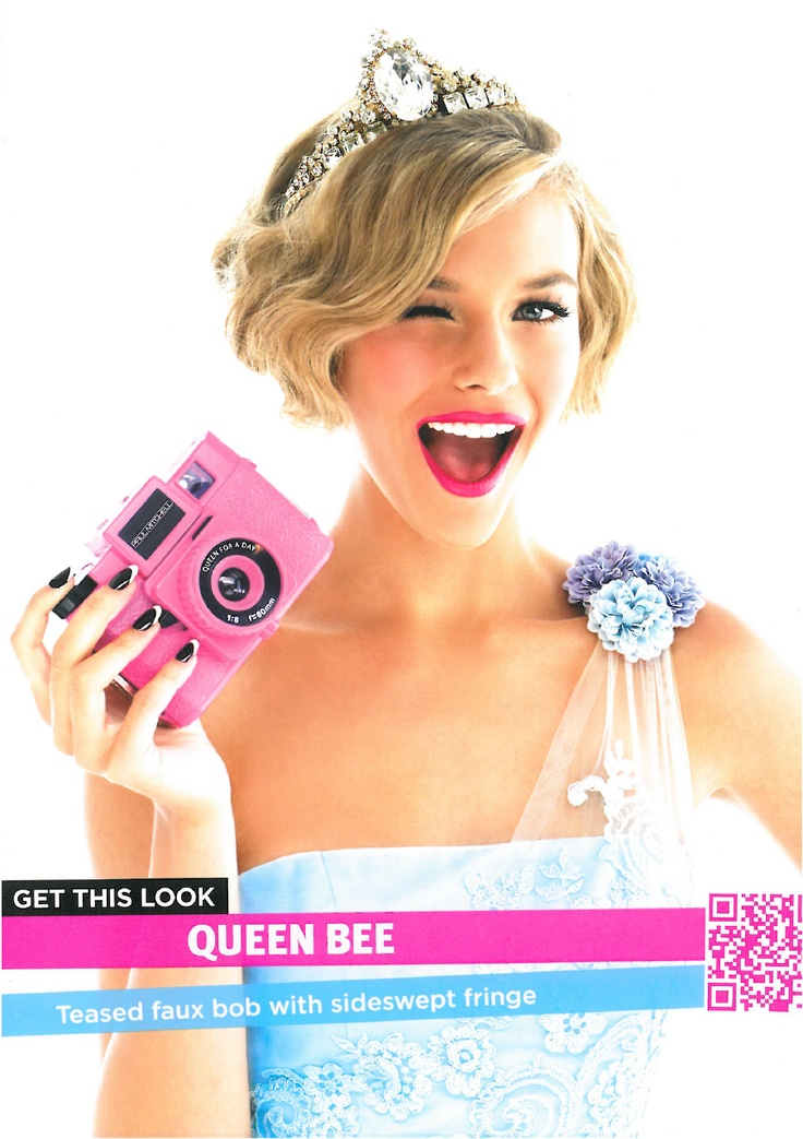 Queen Bee- Paul Mitchell Queen for a Day