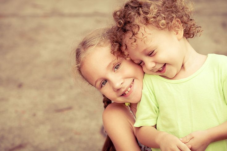 A child's opinion of herself is shaped by her interactions with her brother or sister.