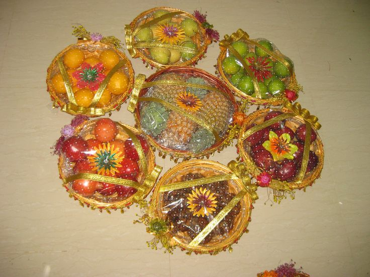 Seer thattu seer pinterest for Aarti thali decoration with grains