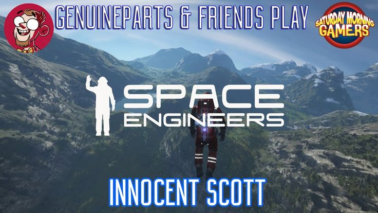 Space Engineers | Innocent Scott  https://youtu.be/vHp2b9GE8vg We crashed our ship on some unknown Planet. Can we work together long enough to get off this rock? Awesome People: SirNightOwl - https://www.youtube.com/channel/UCJo8dwBya9Z12eamm1OFE6w ScottDogGaming - https://www.youtube.com/user/ScottDogGaming Twitter: http://twitter.com/genuineparts_ Get the Game: http://ift.tt/16Fl67U Space Engineers is a sandbox game about engineering construction exploration and survival in space and on…