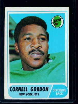 North Carolina A&T alum Cornell Kermit Gordon is a former  defensive back. He played for the New York Jets and the Denver Broncos for eight seasons including the 1969 Super Bowl