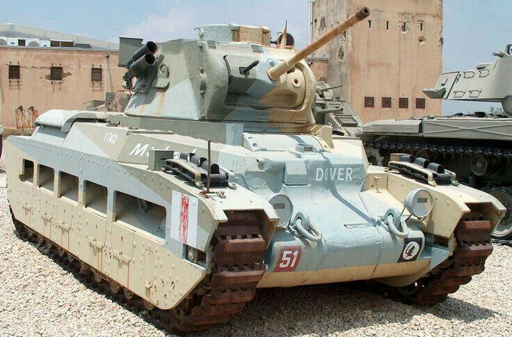 """A12 infantry tank Mk II """"Matilda"""" II в музее Латруна"""