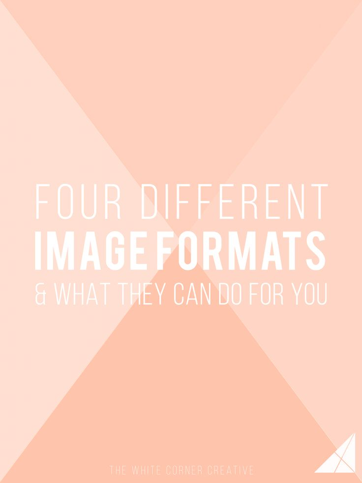 Whether you're posting a photo online or sending one in for printing, there is an ideal image format for every job that will get you the best quality image.