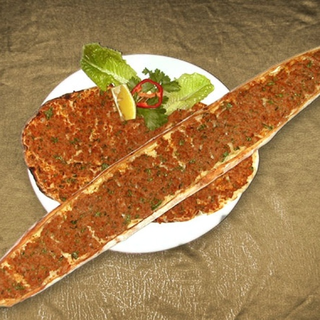 Pide (turkish pizza) and lahmacun