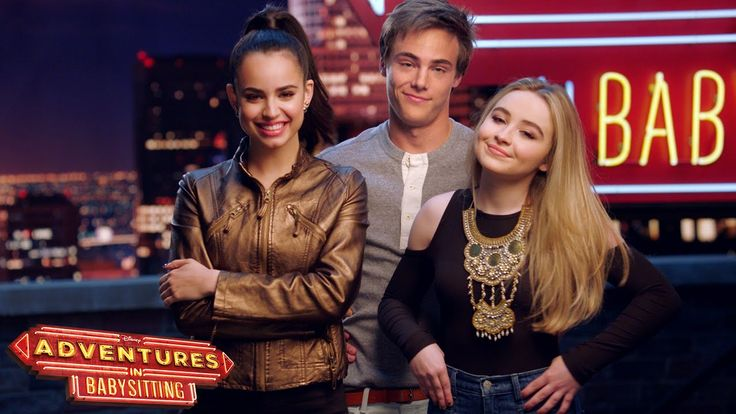 On the Set   Adventures in Babysitting   Disney Channel
