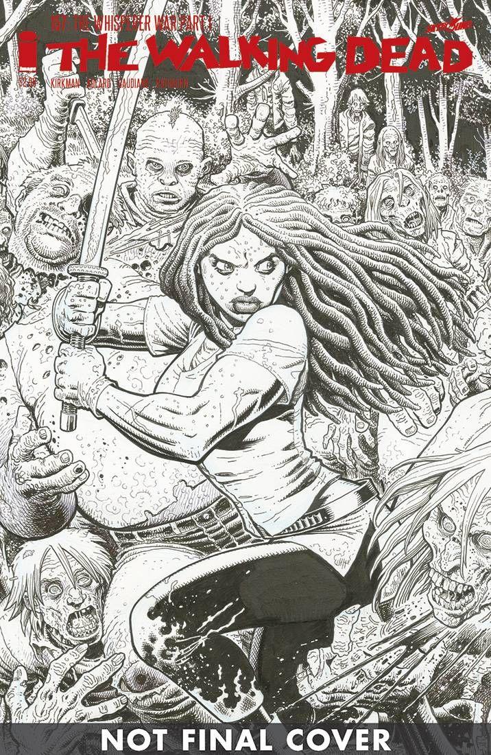 Walking Dead #157 Cover B Arthur Adams