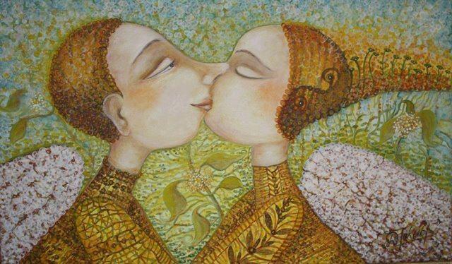 Els àngels il·lustrats per Danguole Jokubaitiene | Pinzellades al món