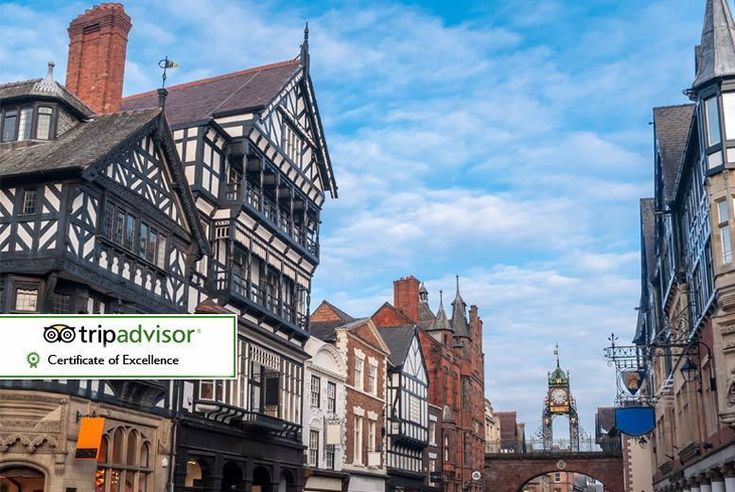 UK Holidays 2017 - Chester Getaway for 2, Breakfast & Drink - Bottle of Wine Upgrade! for just: £59.00 Chester Getaway for 2, Breakfast & Drink - Bottle of Wine Upgrade! BUY NOW for just £59.00