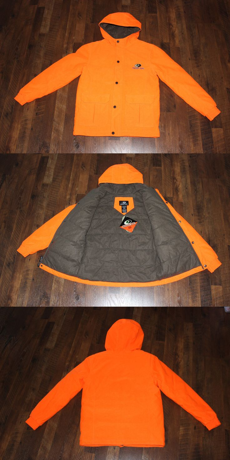 Coats and Jackets 177868: Mossy Oak Youth Parka Blaze Orange Hunting Coat Waterproof Insulated S M L Xl BUY IT NOW ONLY: $49.99