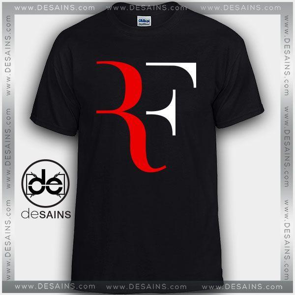 Cheap Graphic Tee Shirts Roger Federer RF Tshirt On Sale //Price: $12 Gift Custom Tee Shirt Dress //     #Desains #Tees #Shirt #Dress