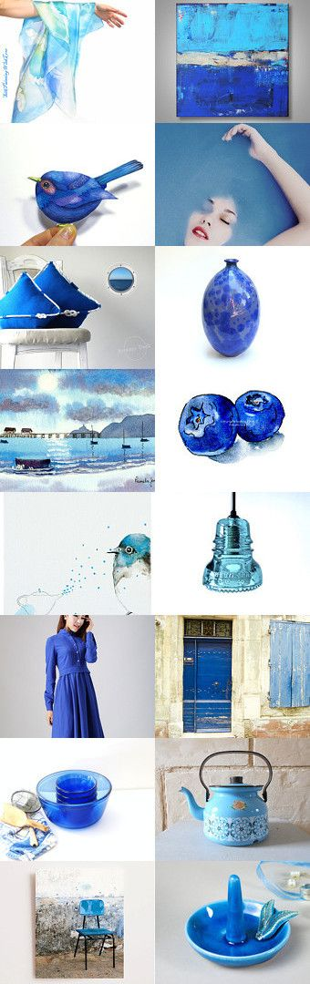 Beautiful Blue by Marlena Rakoczy on Etsy--Pinned with TreasuryPin.com