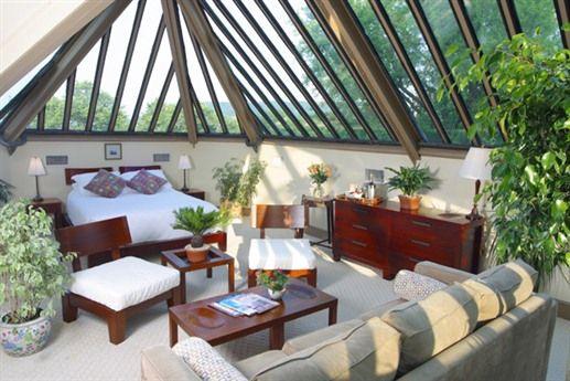 The Conservatory Room at The Sayre Mansion Inn - Bethlehem, PA