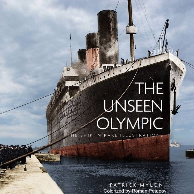 Rms Olympic: 176 Best Images About RMS Olympic On Pinterest