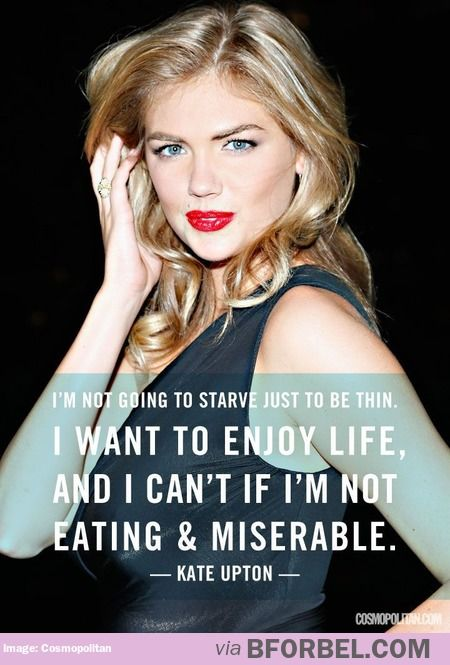 431 best awesome women images on pinterest hilarious quotes kate uptons approach to diets ccuart Image collections