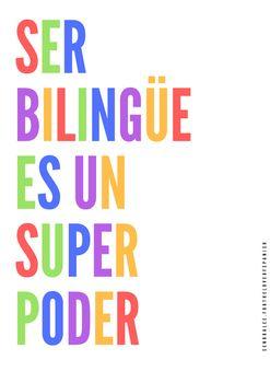 Spanish Poster - Ser Bilingue