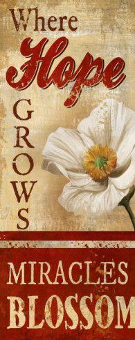 Where Hope Grows by Conrad Knutsen