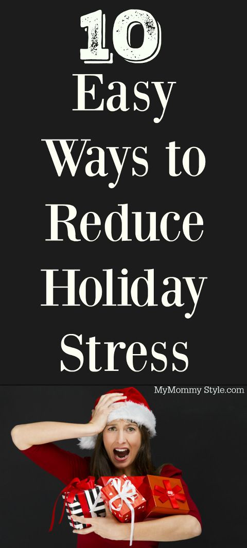 10 Easy Ways to Reduce Holiday Stress, easy steps to follow to reduce stress this holiday season! #MyStressSecret #ad