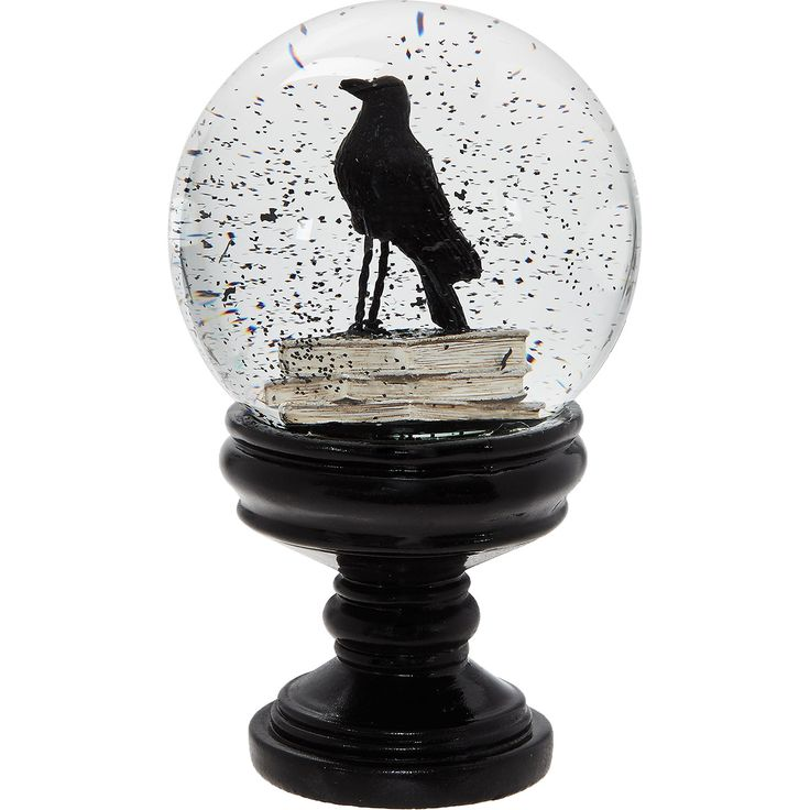 hallow 39 s eve black crow water globe tk maxx