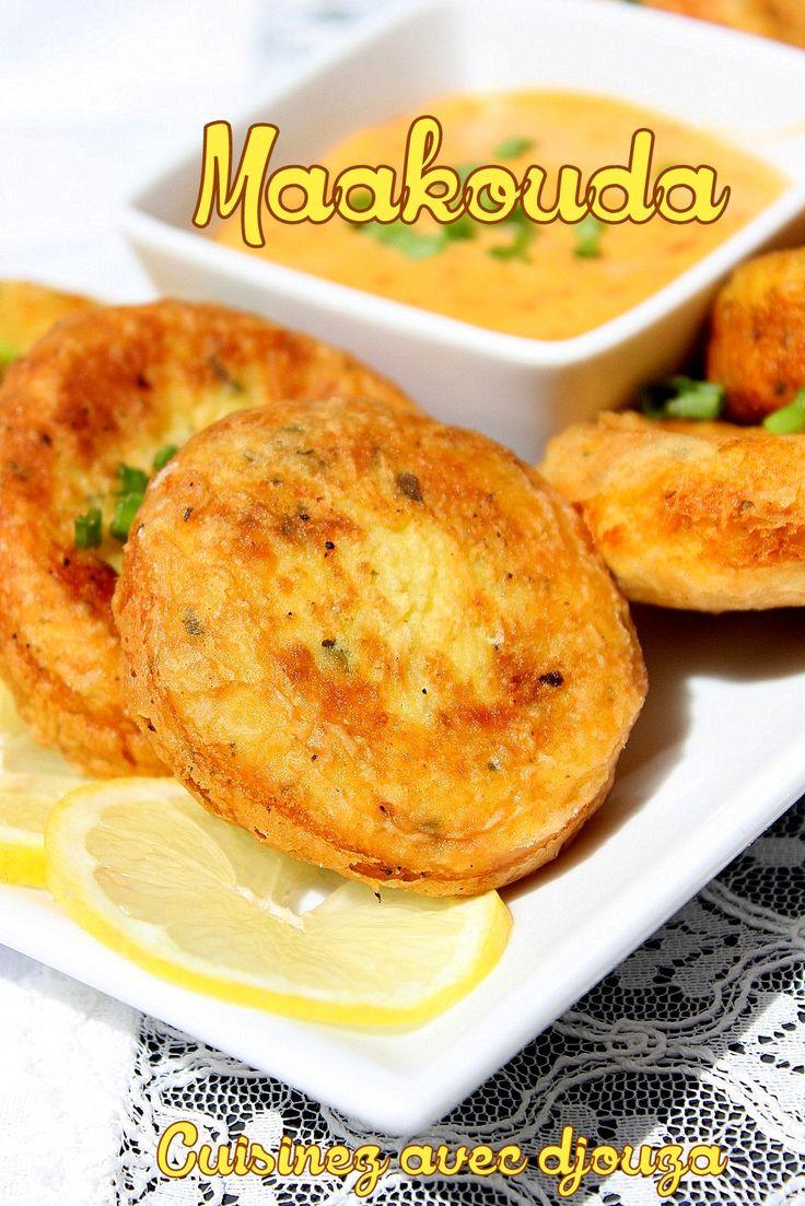 Je prépare maakouda ou ma3kouda afin d'accompagner la harira ou chorba. Voici maakouda express à la purée en sachet, un beignet de pommes de terre facile