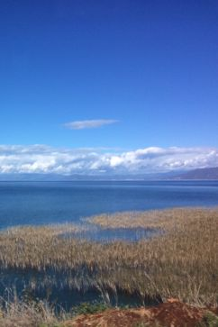 Albania,Ohrid lake , near Macedonia border