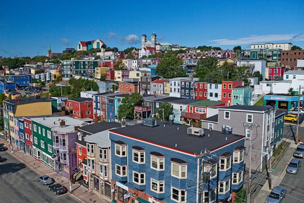 The 8 Most Colourful Cities on Earth - Yep, St. John's, Newfoundland is one of them! :)