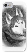 IPhone 6S Case - Expressive Siberian Husky Mixed Media A4617 IPhone Case by Mas Art Studio, #Iphone6SCase #IphoneCase #Photo #Husky #Modern #Expressive  #MasArtStudio #WallArt #ArtForSale #MarthaAnnSanchez   #Gestural #Interiors #ArtLoversOnline #CanvasPrint   #GicleePrint #Black #White #Wildlife #New   #LivingRoomArt #BedroomArt #ChildrensRoomArt  #Creative #Kitchen #OfficeSafe #LaundryRoom #Art