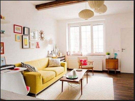 apartment living room makeover decorating