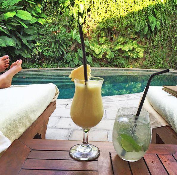 Monday relaxation at Villa Kubu – photo shared by @deanvillanti  www.villakubu.com #villakubu #iDOlikemondays #villa14 #seminyak #luxury #balivilla #islandlife #sanctuary #wanderlust #tropicalparadise #bali