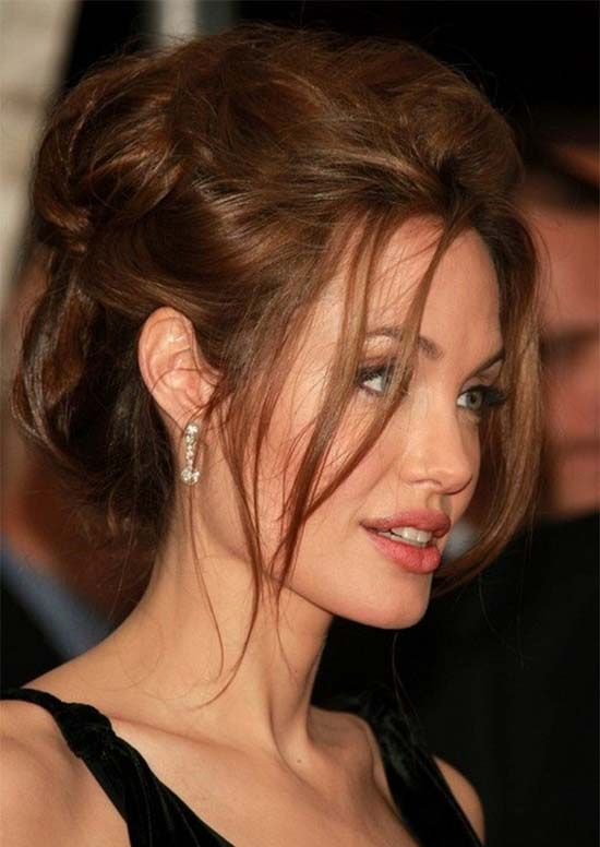 Frisuren Angelina Jolie