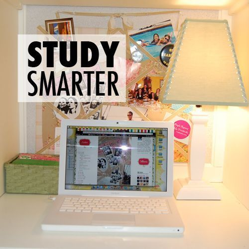 Here are some tips and strategies for studying. You don't have to study harder, study smarter.