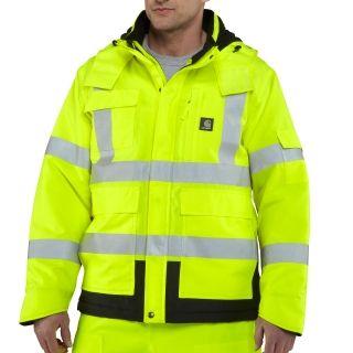 Carhartt 100787 Men's HV Sherwood Jacket  #Flame-Resistantjacket