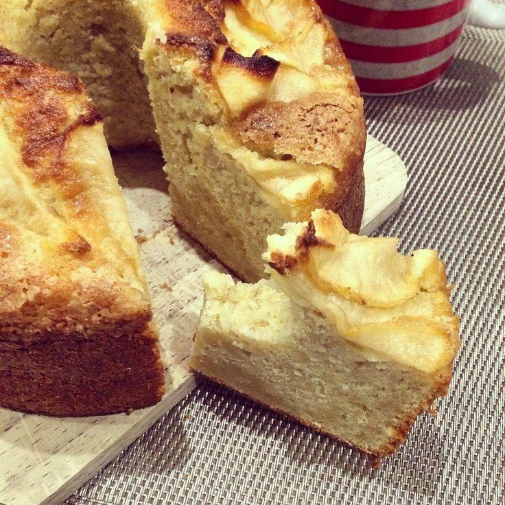 Fondant aux Pommes et amandes - Papa en Cuisine
